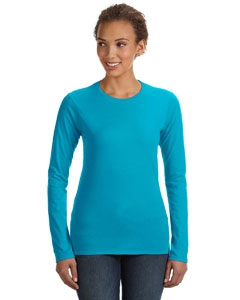 Anvil 374L Ladies' Lightweight Fitted Long-Sleeve T-Shirt