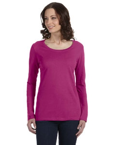 Anvil 399 Ladies' Ringspun Sheer Long-Sleeve Featherweight T-Shirt