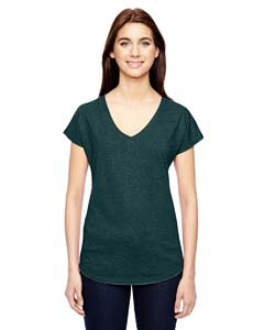 Anvil 6750VL Ladies' Triblend V-Neck T-Shirt