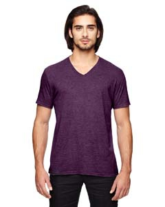 Anvil 6752 Triblend V-Neck T-Shirt