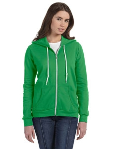 Anvil 71600L Ladies' Full-Zip Hooded Fleece
