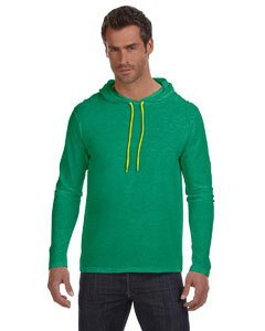 Anvil 987AN Lightweight Long-Sleeve Hooded T-Shirt