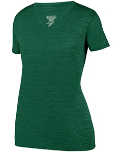 Augusta Sportswear 2902 Ladies' Shadow TonalHeather Short-Sleeve Training T-Shirt