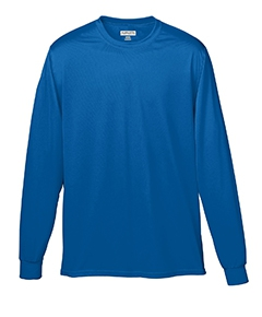 Augusta Sportswear 788 100% Polyester Moisture-Wicking Long-Sleeve T-Shirt