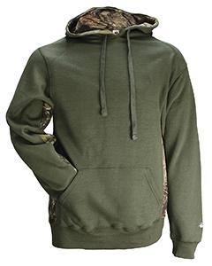 7602 Badger Men/'s Polyester Hook V Neck Collar Long Sleeve Windbreaker