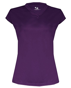 Badger 6162 Solid Color Cap Sleeve Ladies Jersey