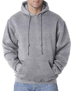 Bayside BA960 Adult Pullover Hooded Sweatshirt
