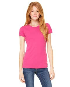 Bella + Canvas 1001 Ladies' Stretch Rib Short-Sleeve T-Shirt