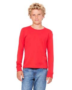 Bella + Canvas 3501Y Youth Jersey Long-Sleeve T-Shirt