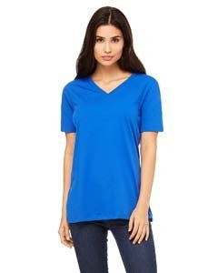 Bella + Canvas 6405 Missy's Relaxed Jersey Short-Sleeve V-Neck T-Shirt