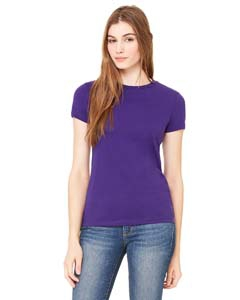 Bella + Canvas 6650 Ladies' Poly-Cotton Short-Sleeve T-Shirt
