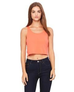 Bella + Canvas 6680 Ladies' Poly-Cotton Crop Tank