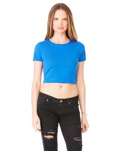 Bella + Canvas 6681 Ladies' Poly-Cotton Crop T-Shirt