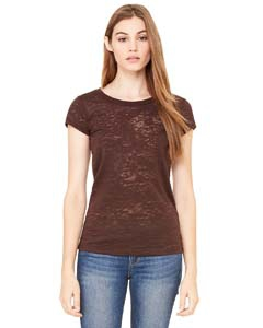 Bella + Canvas 8601 Ladies' Burnout Short-Sleeve T-Shirt