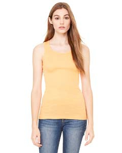 Bella + Canvas 8770 Ladies' Sheer Mini Rib Racerback Tank