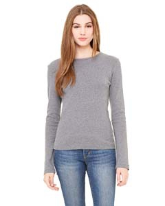 Bella + Canvas B5001 Ladies' Stretch Rib Long-Sleeve T-Shirt