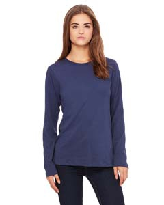Bella + Canvas B6450 Missy's Jersey Long-Sleeve T-Shirt