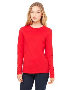 Bella + Canvas B6450 Missy's Jersey Long-Sleeve T-Shirt