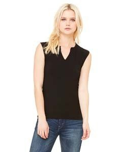 Bella + Canvas B820 Ladies' Cotton/Spandex Slit-V Raglan T-Shirt