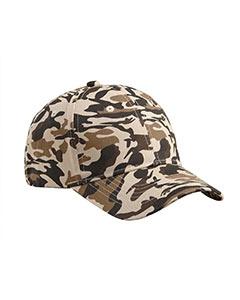 Big Accessories BX024 Structured Camo Hat