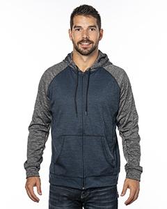 Burnside B8660 Men's Performance Hooded Sweatshirt