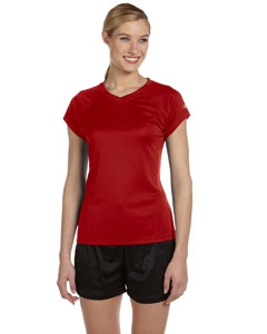 Champion CW23 Double Dry® Ladies' 4.1 oz. V-Neck T-Shirt