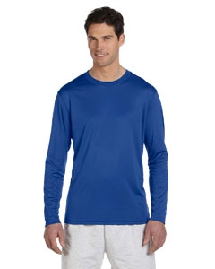 Champion CW26 Double Dry® 4.1 oz. Long-Sleeve Interlock T-Shirt