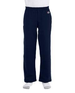 Champion P890 Eco® Youth 9 oz. Open-Bottom Fleece Pant
