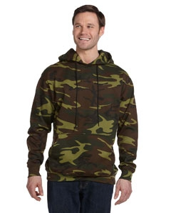 Code Five 3969 Camouflage Pullover Hooded Sweatshirt