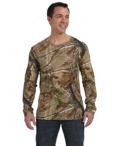 Code Five 3981 Officially Licensed REALTREE® Camouflage Long-Sleeve T-Shirt