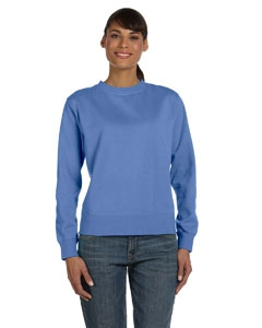 Comfort Colors C1596 Ladies' 10 oz. Garment-Dyed Wide-Band Fleece Crew