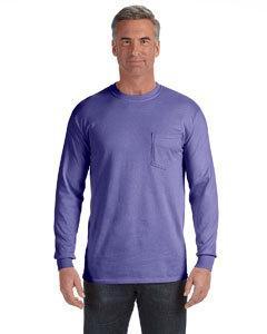 Comfort Colors C4410 6.1 oz. Long-Sleeve Pocket T-Shirt