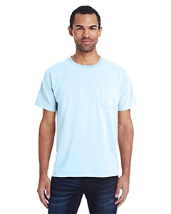 ComfortWash by Hanes GDH150 Unisex 5.5 oz., 100% Ringspun Cotton Garment-Dyed T-Shirt with Pocket