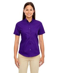 Core 365 78194 Ladies' Optimum Short-Sleeve Twill Shirt