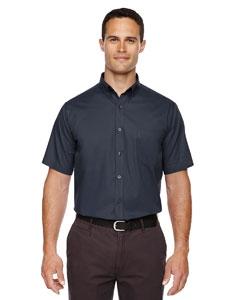 Core 365 88194 Men's Optimum Short-Sleeve Twill Shirt