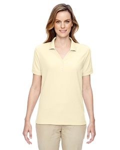 Devon & Jones D100W Ladies' Pima Piqué Short-Sleeve Y-Collar Polo