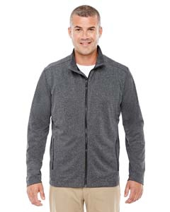 Devon & Jones D885 Men's Fairfield Herringbone Full-Zip Jacket