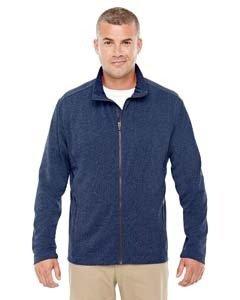Devon & Jones D885 Men's Fairfield Herringbone Full-Zip Jacket