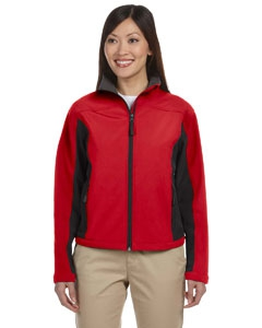 Devon & Jones D997W Ladies' Soft Shell Colorblock Jacket