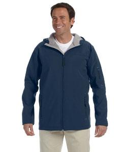 Devon & Jones D998 Men's Hooded Soft Shell Jacket