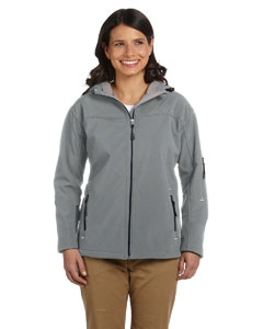 Devon & Jones D998W Ladies' Hooded Soft Shell Jacket