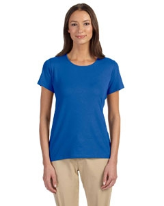 Devon & Jones DP182W Ladies' Perfect Fit Shell T-Shirt
