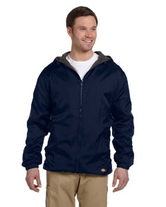 Dickies 33237 Fleece-Lined Hooded Nylon Jacket