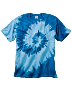 Dyenomite 20B21 Youth Tone On Tone Spiral T-Shirt
