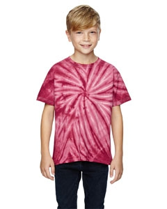 Dyenomite 365BCY for Team 365 Youth Team Tonal Cyclone Tie-Dyed T-Shirt