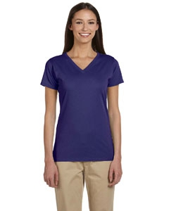 econscious EC3052 Ladies' 4.4 oz. 100% Organic Cotton Short-Sleeve V-Neck T-Shirt