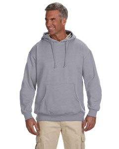 econscious EC5570 7 oz. Organic/Recycled Heathered Fleece Pullover Hood