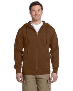 econscious EC5650 Men's 9 oz. Organic/Recycled Full-Zip Hood