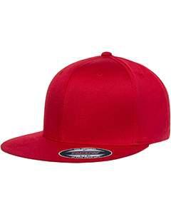 Flexfit 6297F Wooly Twill Pro Baseball On-Field Shape Cap with Flat Bill