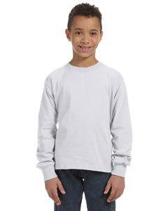 Fruit of the Loom 4930B Youth 5 oz., 100% Heavy Cotton HD® Long-Sleeve T-Shirt